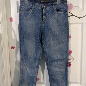 Levi's retro print jeans size W30